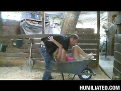 Halie Cummings, our busty lady ally, is out in her barn flirting with the creepy farmer from next door. This Sweetheart begins showing off her big farmer pointer sisters hoping to receive milked or receive milked on. That Sweetheart a freaky one that can't live out of getting porked all kinds of wicked ways......