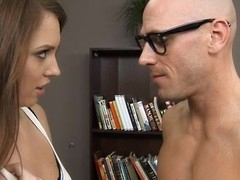 Legal Age Teenager slut gives unfathomable mouth in advance of getting snatch drilled