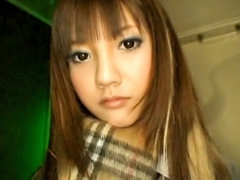 Hot gorgeous hawt lengthy haired oriental legal age teenager blowing rod unfathomable