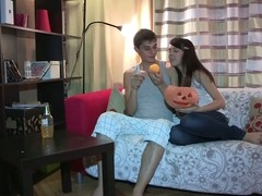 Everything can happen on Halloween and even this shy 18 y.o. hottie lastly makes a decision to try anal sex with her ever lascivious boyfriend. This Honey begins it all with a mind boggling oral sex sex engulfing ding-dong worthwhile to prepare it for her taut virgin ass hole, then follows with getting anally fingered and taking some great arsehole fucking in various poses. From behind or not - this naive legal age teenager girl enjoys every pont of time of it with totally fresh deep and highly meaty sensations.